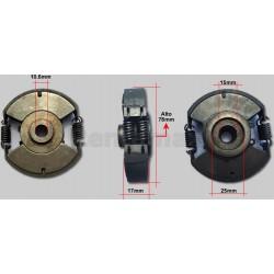 CLUTCH COMPACTADOR 78mm CONICO WACKER