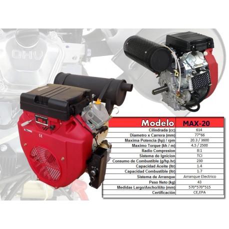 gx620 gx630 motor 20hp