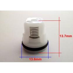 KIT VALVULAS CHECK RMV 2G23 RMW 2G23 AR585 (BASE PLASTICA)