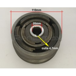 CLUTCH POLEA 20x110mm Faja A
