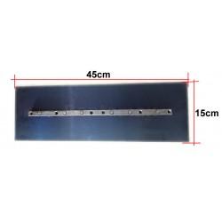 KIT 4 ASPAS ALISADORA CONCRETO / HELICOPTERO 150mmx450mm