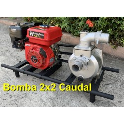 BOMBA CAUDAL 2X2 7HP C/BASE