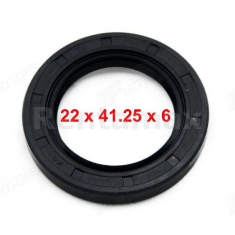RETENEDOR ACEITE 22X41X6 118cc    91203-ZE0-013