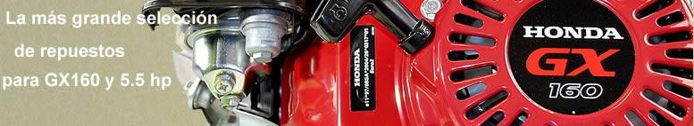 De todo en repuestos para motores Honda GX!
