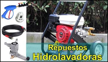 Especialistas en repuestos para hidrolavadoras y lavadoras a presion