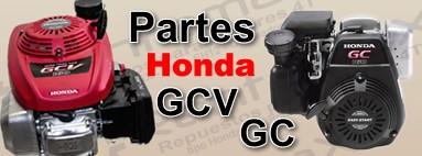 Partes para Honda GC y Honda GCV